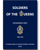 Soldiers of The Queens Journal 2013